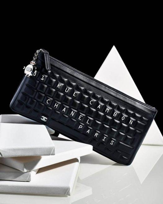 Keyboard Style Handbag